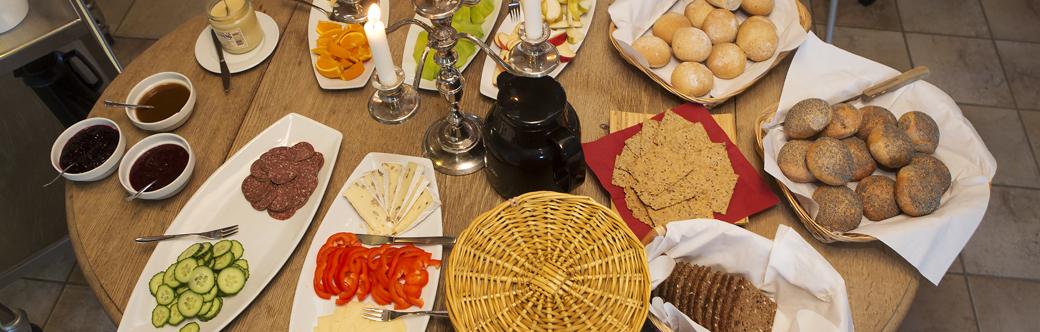 Morgenmad på Hellevad Vandmølle