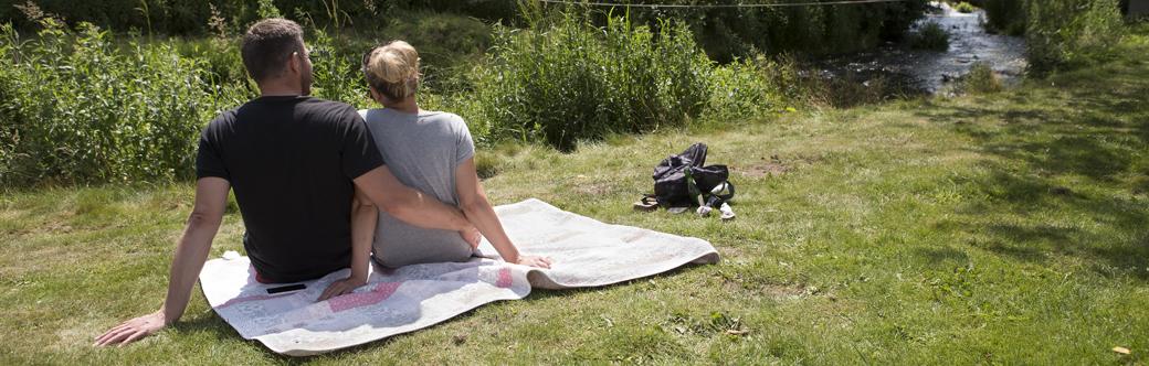 Ferie på Hellevad Vandmølle byder på afslapning til forældrene og aktivitet for børnene.